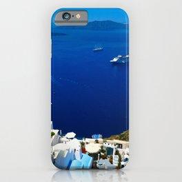 Santorini Caldera iPhone Case