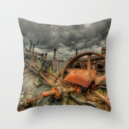 Extreme Scrappage Throw Pillow