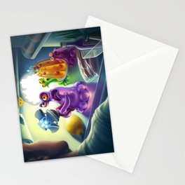 Kidnapping story Stationery Cards