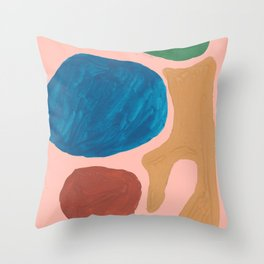 17    | Imperfection | 190325 Abstract Shapes Throw Pillow