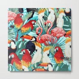Exotic birds Metal Print