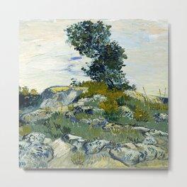 The Rocks by Vincent van Gogh Metal Print
