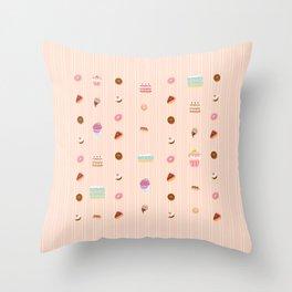 Sweet treats Throw Pillow