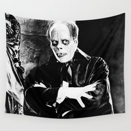 Lon Chaney || classic horror movie Wall Tapestry
