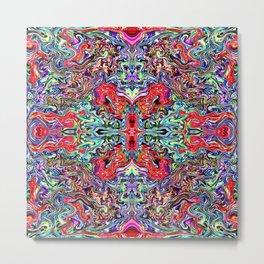 4 Square 250 Metal Print
