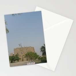 Temple of Karnak at Egypt, no. 2 Stationery Cards