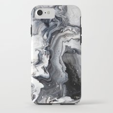 Marble B/W/G iPhone 7 Tough Case
