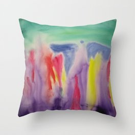 Sprout (within, without and withal) Throw Pillow
