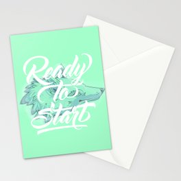 Ready To Start Stationery Cards