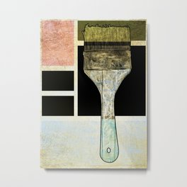 Artist Painters Paintbrush Metal Print