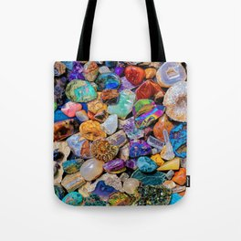 Rocks and Minerals, Geology Tote Bag