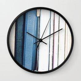 Books 1 Wall Clock