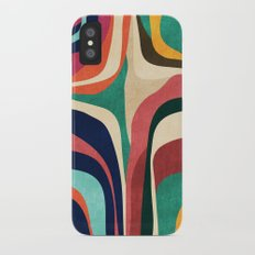 Impossible contour map iPhone X Slim Case