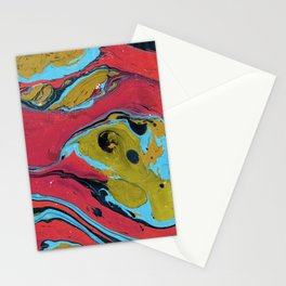 Marble texture 9 Stationery Cards