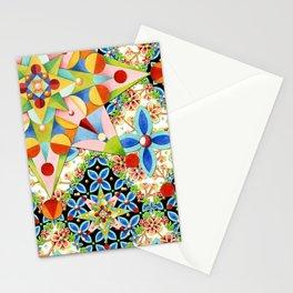 Elizabethan Blossom Starburst Stationery Cards