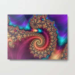 The Infinite Rainbow Metal Print