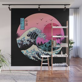 The Great Retro Wave Wall Mural