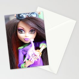 Monster High: Howleen Wolf custom from The Blank Flank Stationery Cards