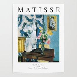 The Plaster Torso - Henri Matisse - Exhibition Poster Poster