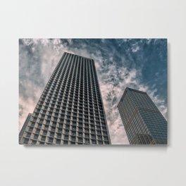 Skyscrapers in Shenzhen (China) (2018-6-SHZ3) Metal Print