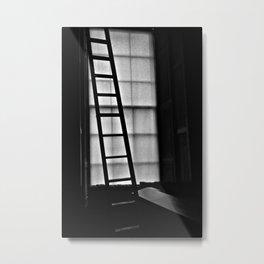 Dark Reading Light Metal Print