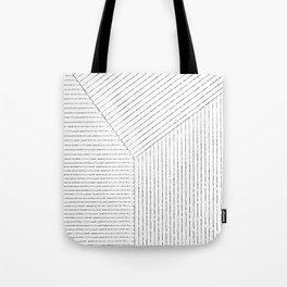 Lines Tote Bag