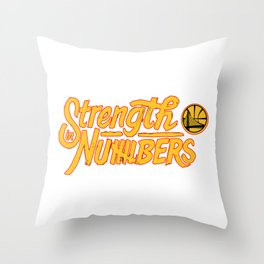 golden state Throw Pillow