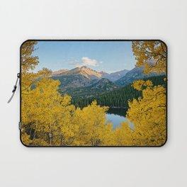 BEAR LAKE AUTUMN COLORADO ROCKY MOUNTAIN NATIONAL PARK FALL LANDSCAPE Laptop Sleeve