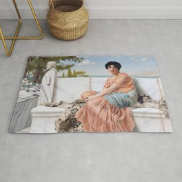 In the Days of Sappho Rug