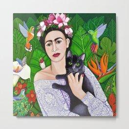 Frida wings Metal Print