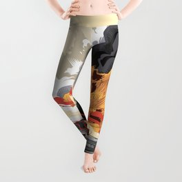Back to the Future III (Three) Leggings