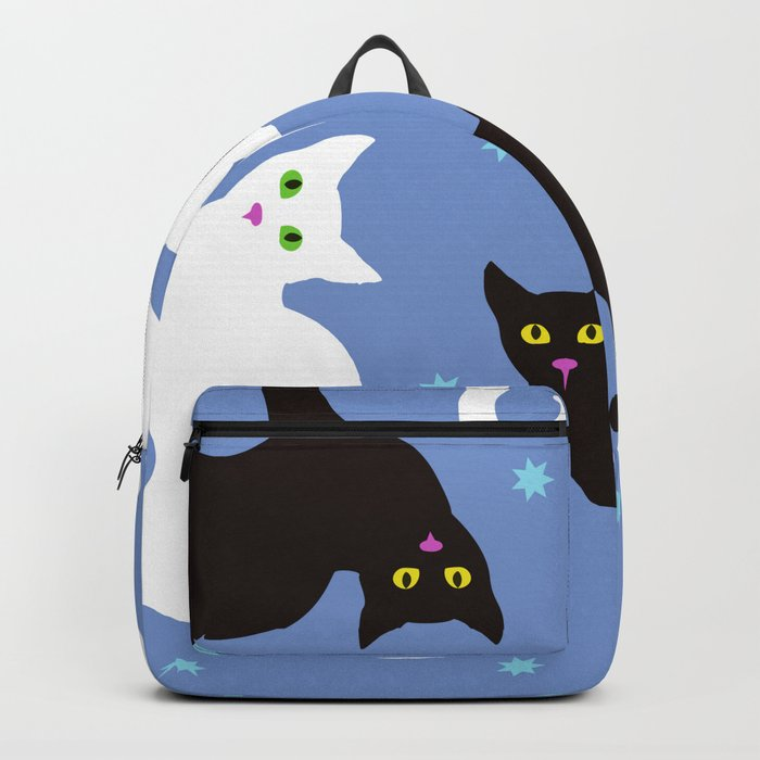 Cats Blue Backpack