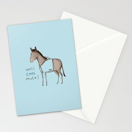 Well Cool Mule! Stationery Cards
