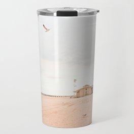 Coney Island Summer Time, New York, Beach Photography  Travel Mug