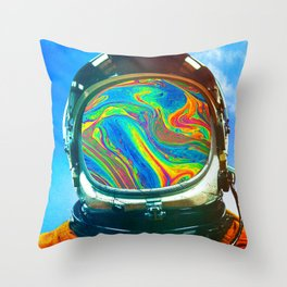 Just A Chemical Throw Pillow