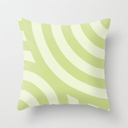 Light Green Wallpaper Pattern Throw Pillow