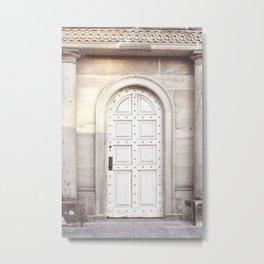 White Door DC Metal Print