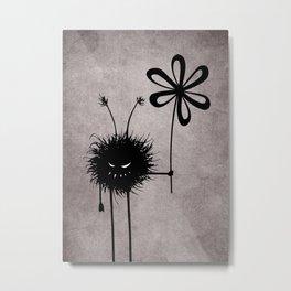 Evil Flower Bug Metal Print