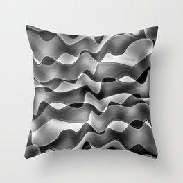 SaturdayNight-interférences Throw Pillow