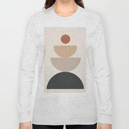 Geometric Modern Art 31 Long Sleeve T-shirt
