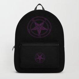Das Siegel des Baphomet - The Sigil of Baphomet (purple reign) Backpack