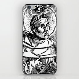 Portrait of Martin Luther iPhone Skin