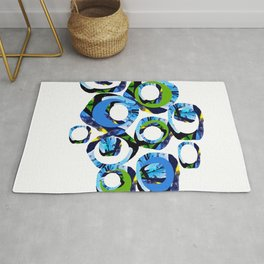 Movement of joy and peace Rug