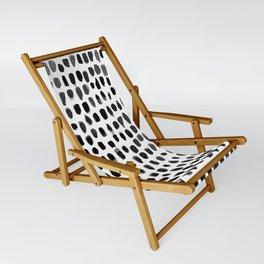 Dots (Black) Sling Chair