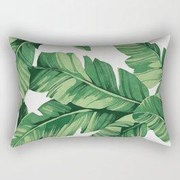 Tropical banana leaves Rectangular Pillow