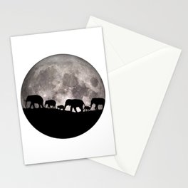 United Together - Elephants Stationery Cards