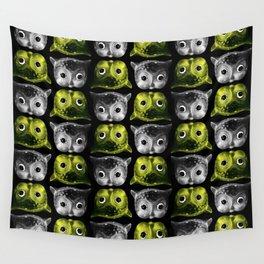 Creepy Owls Wall Tapestry