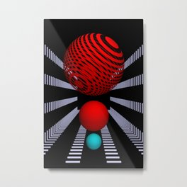 opart -72- Metal Print