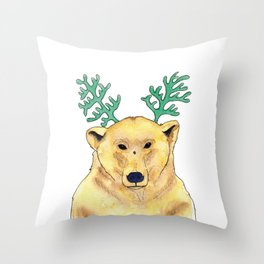 Ours Throw Pillow