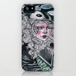 Lady Knight iPhone Case